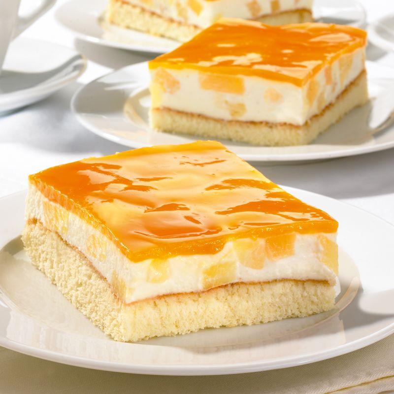 Deutsche Kuchen Rezepte: Biskuitschnitten
