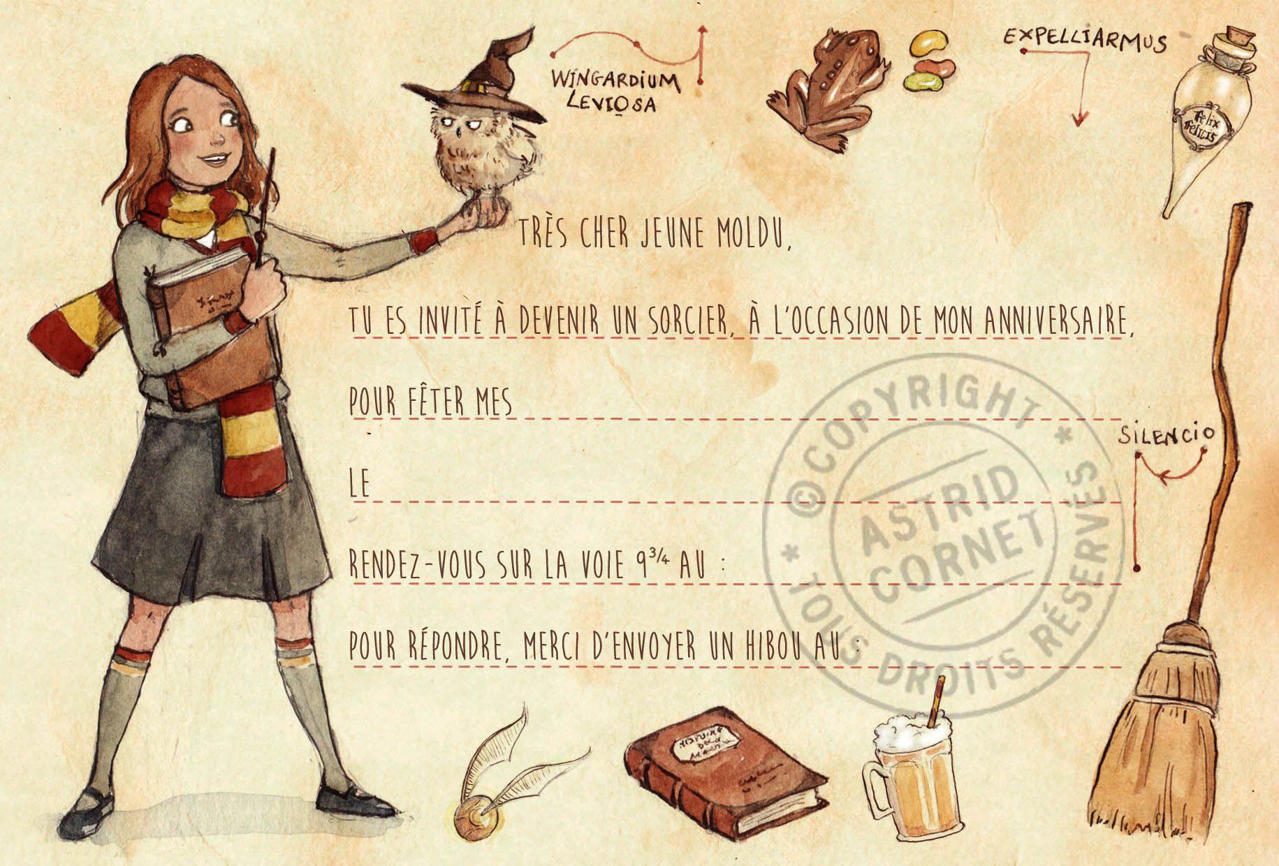 anniversaire hermione harrypotter