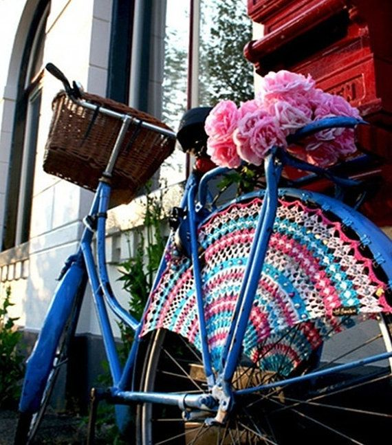 PDF Immediate Digital Delivery Vintage Crochet Pattern for a bicycle ...