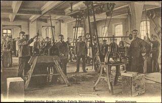 hannover linden 1913 hannoversche grude ofen fabrik maschinenraum vor 1920 fr her mal in. Black Bedroom Furniture Sets. Home Design Ideas