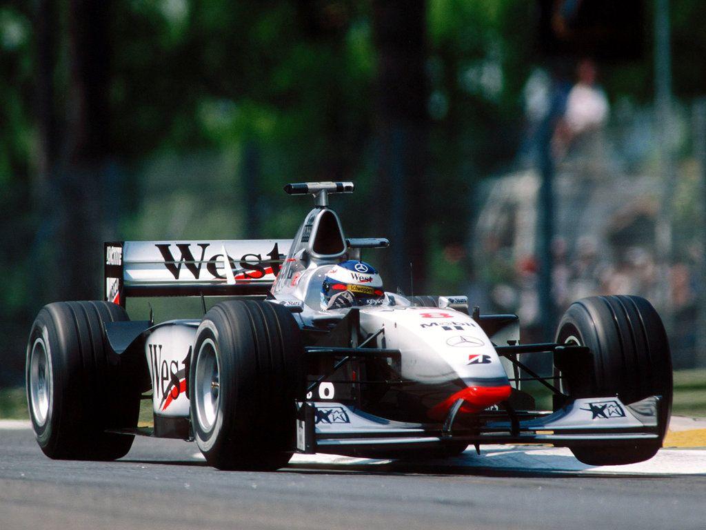 Mika Hakkinen Mclaren Mp4 13 Mercedes Benz V10 Kimi Raikkonen
