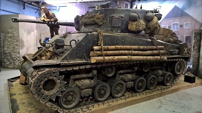 Restored Sherman Tank M4a2 76 Hvss Used In The Movie Fury