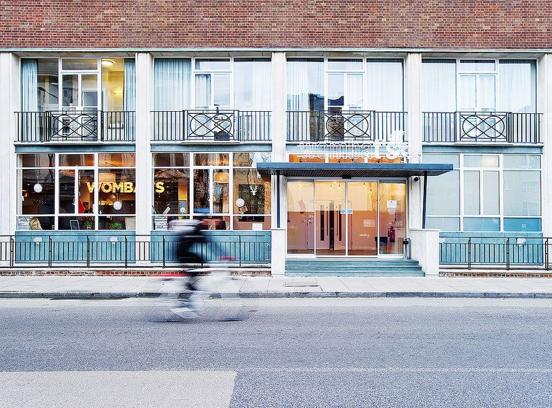 Wombat S Entrance Hostel London The Places Youll Go