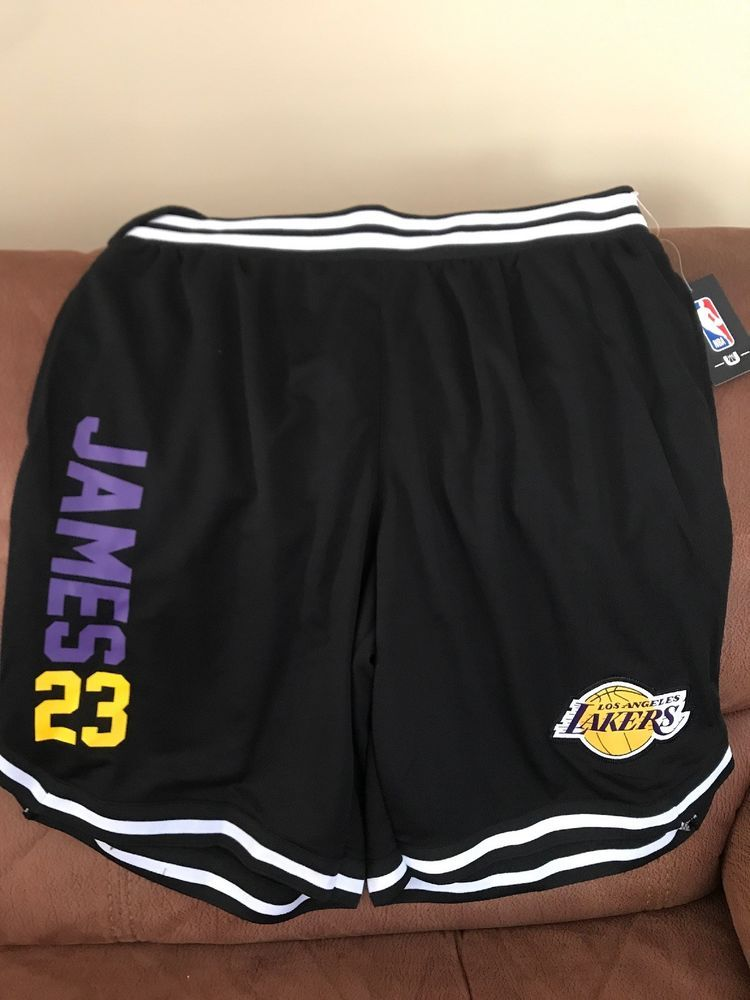 Lebron James Los Angeles Lakers nba shorts unk brand NWT Size Medium Men  e7ef724f4