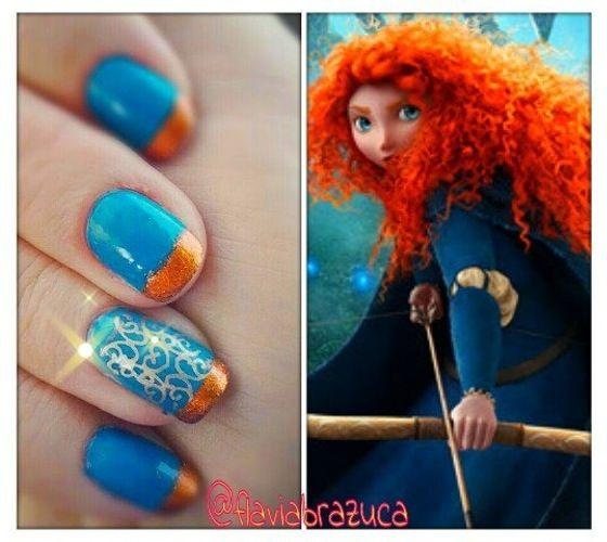 Brave Nail Art