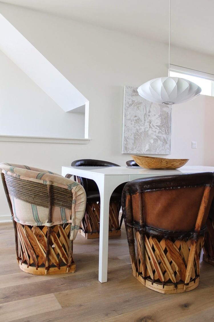 Equipale Chairs, Modern Living In Echo Park   Madison Modern Home Design  Project