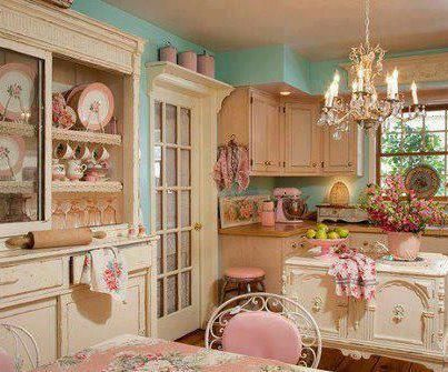 Shabby Chic Colors Style : The cups in shabby chic style vintage colors stock photo picture