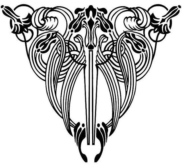 Art Nouveau Floral Designs 4 | Floral designs, Google ...