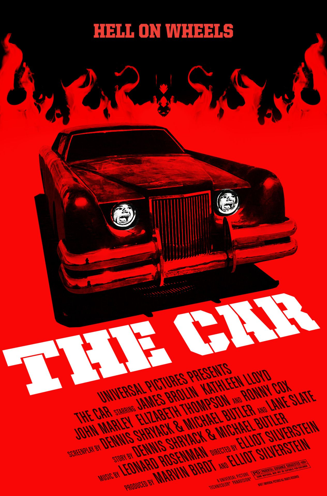 The Car By Robert Armstrong Movie Posters Vintage Horror