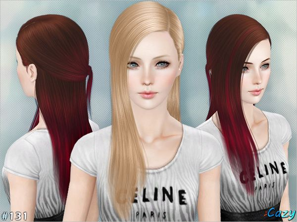 Skyle female hair by Cazy - Sims 3 Downloads CC Caboodle