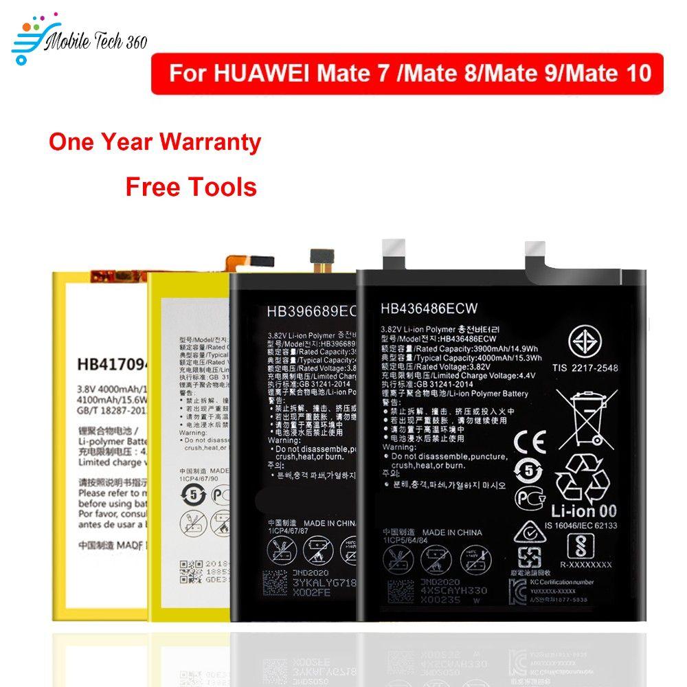 Huawei Mate 7 8 9 10 10 Pro Honor 8c Battery Hb417094ebc Hb396693ecw Hb396689ecw Hb436486ecw Battery Mobile Tech 360 In 2020 Huawei Mate Huawei Mobile Tech
