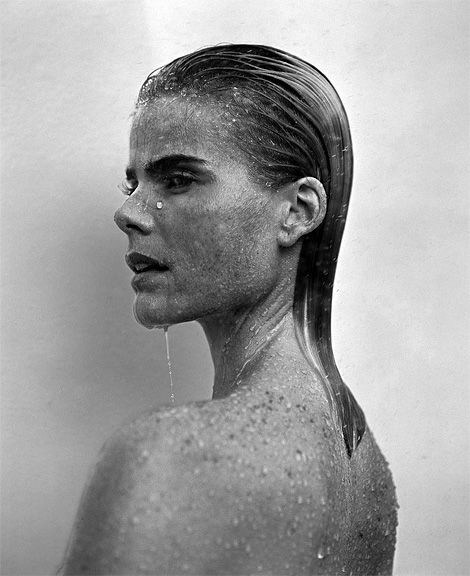Mariel Hemingway photographed by Michael Comte.