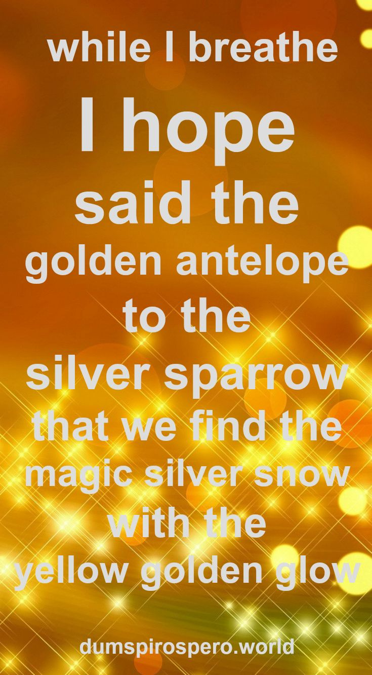 This is a cute children's #poem which you can download by visiting Dum Spiro Spero (Dot World)