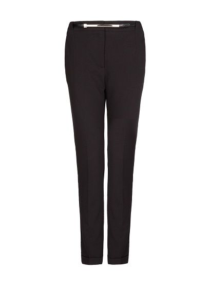 MANGO - Belted sartorial trousers