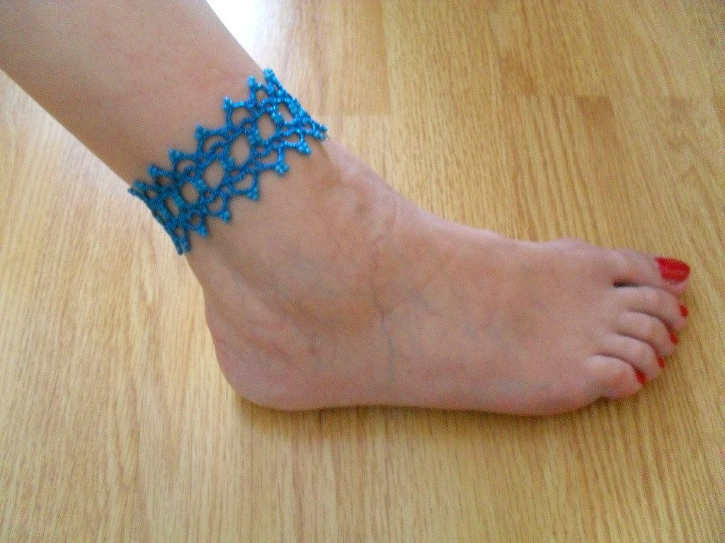 gold turquoise bracelet crystals bracelets ankle healing anklet expression filled products intuition communication release blue