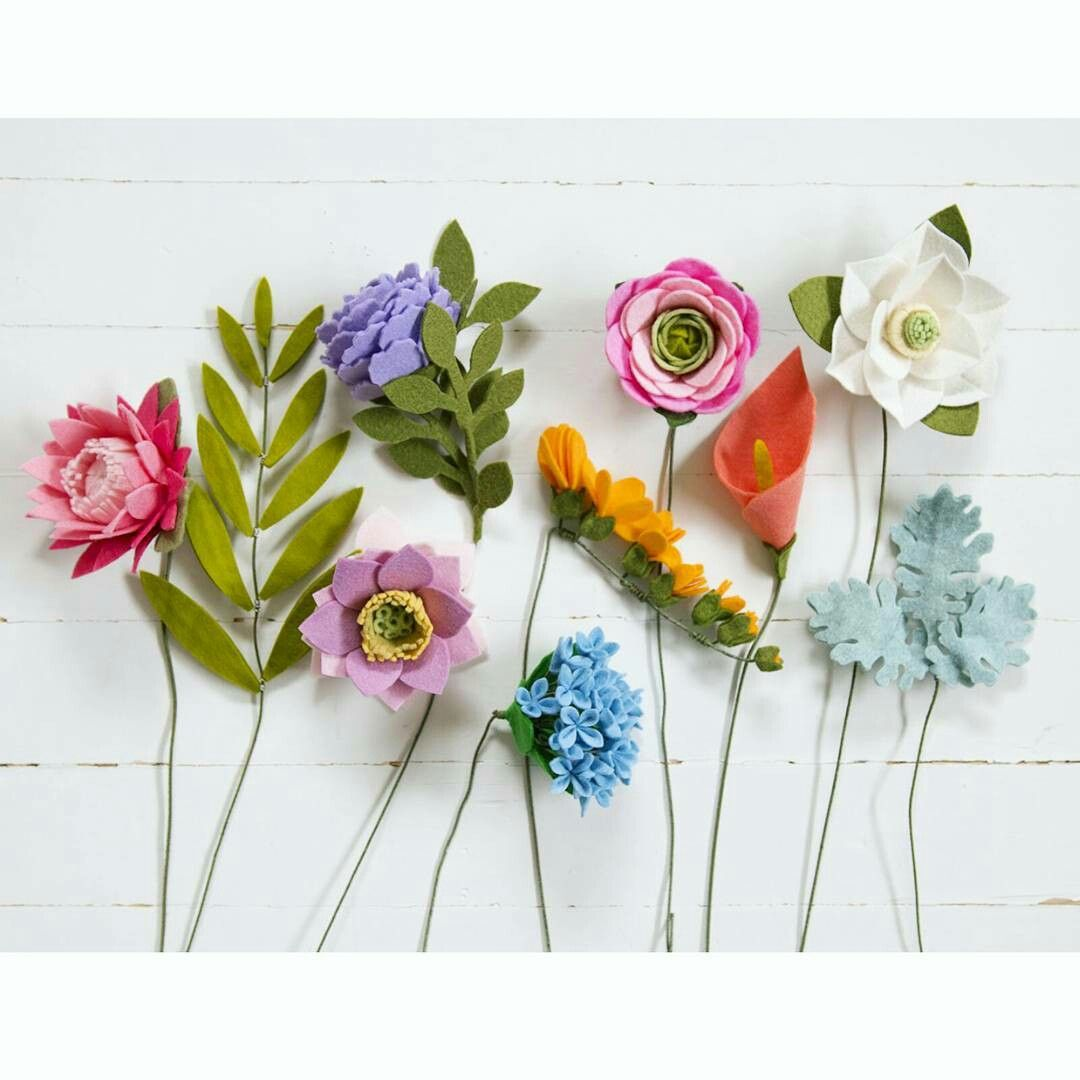 Pin by Hannah Poorman on Crafts | Pinterest | Felt flowers, Felting ...