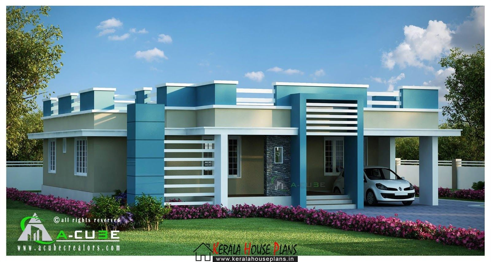 Beautiful kerala single floo rcontemporary house design also gk in rh pinterest