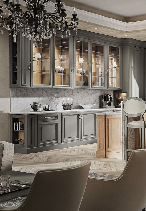 Transitional Kitchens - In House Designs - Kitchen Furniture - Wardrobes - Doors - Accessories - Patra