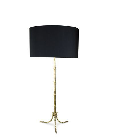 Bliss Studio Gold Cane Table Lamp