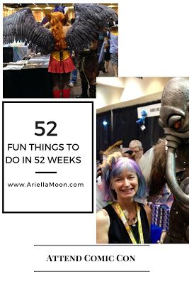 Ariella Moon book signing at Comic Con Palm Springs. Another fun thing to do in 52 weeks!