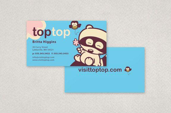 Cute Kids Apparel Business Card Template Inkd Cute Business Cards Business Cards Creative Templates Business Card Template Design