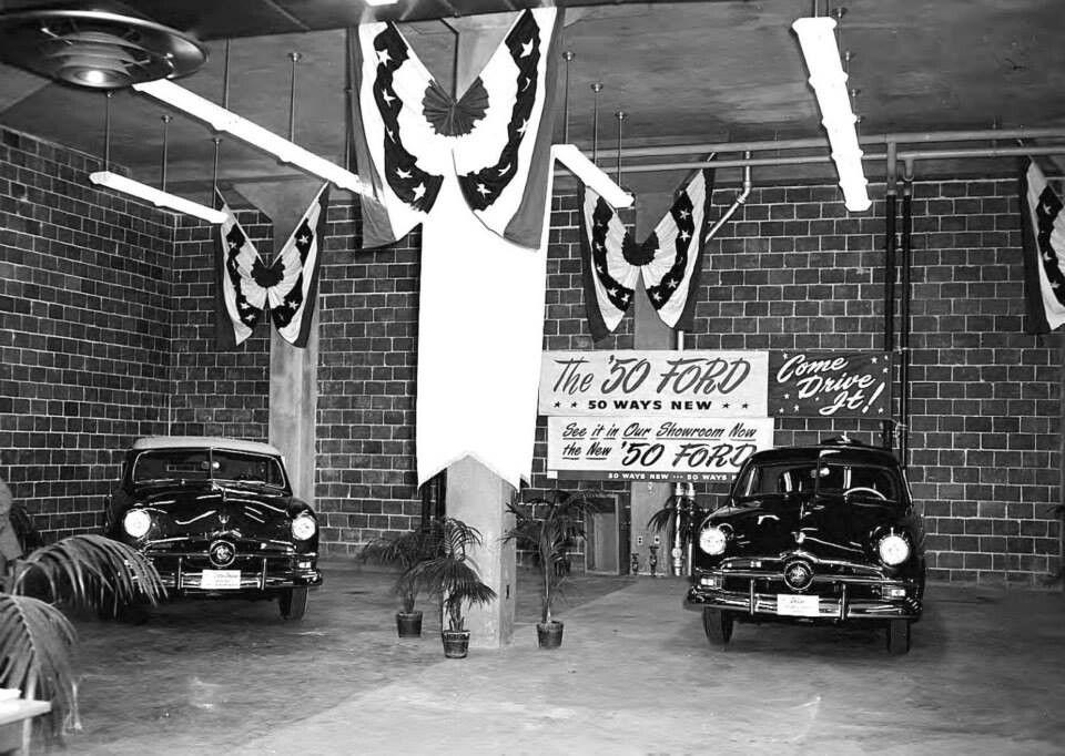 1950 ford car dealership car ford car memorabilia pinterest