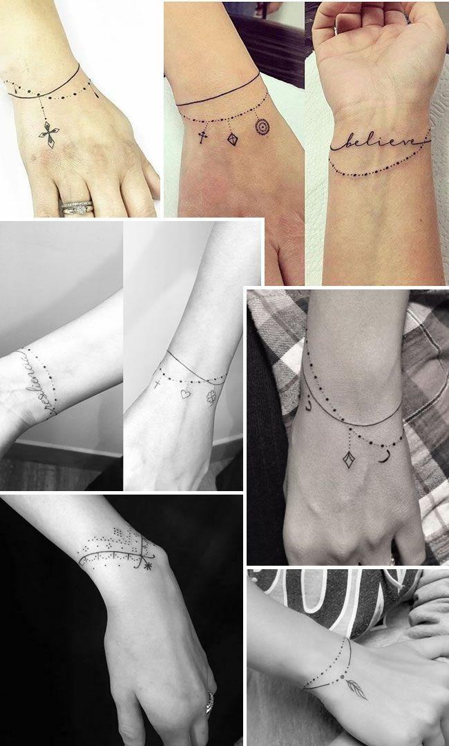 Tatuagem com traços finos: diversas sugestões para você se inspirar   Portal Tudo Aqui