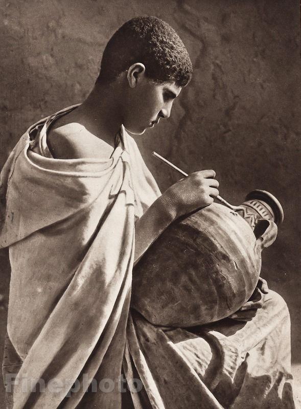1924 Original el Norte de África Túnez aprendiz árabe Foto por Lehnert & Landrock | eBay
