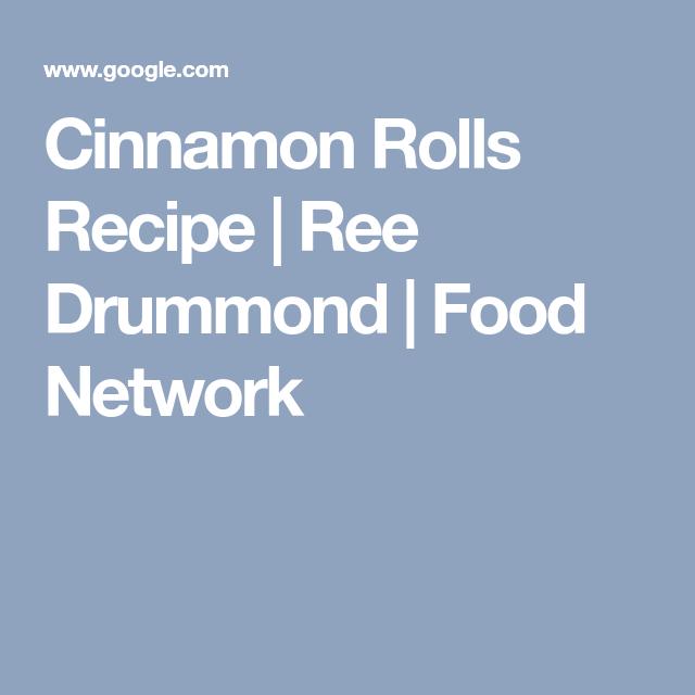 Cinnamon rolls recipe ree drummond food network baking explora estas ideas y mucho ms cinnamon rolls recipe ree drummond food network forumfinder Choice Image