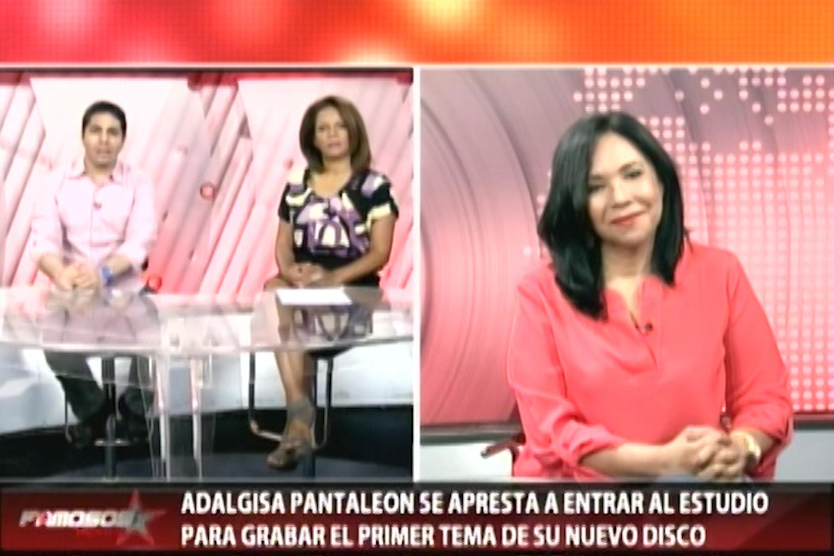 Famosos Inside Entrevistan A Adalgisa Pantaleon Y Comentan Sobre Sus Nuevos Proyectos.