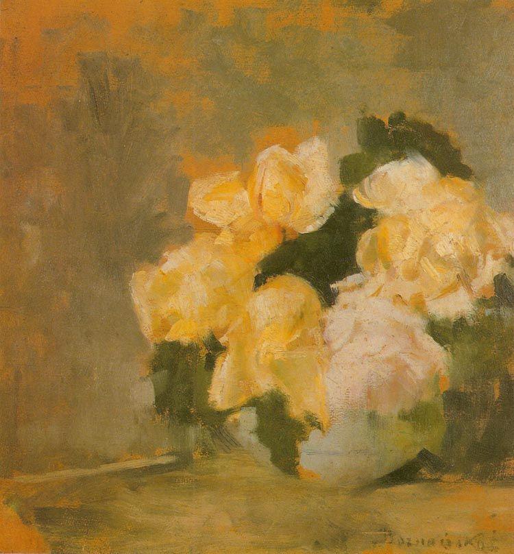 Roze Olga Boznanska Olga Boznanska Art Female Painters