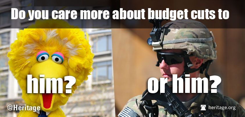 So we are being asked whether we care more about the kids or the troops. I care about both, so now what?