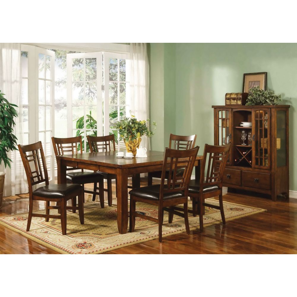Eureka Square Dining Table & Chairs by Lifestyle California ...