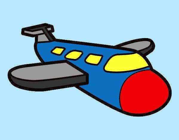 Resultado de imagen para dibujos de aviones a color  TRANSPORTES