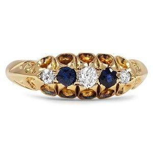 The Idania Ring #BrilliantEarth #Vintage