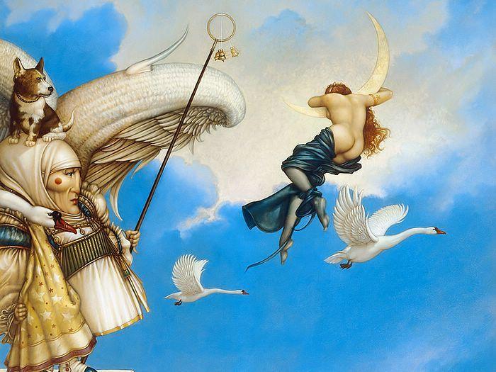 Magic Fantasy : Michael Parkes Magic Realism Art (Vol.02) - The ...
