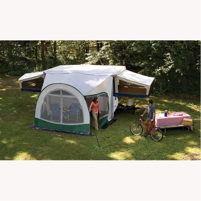 Dometic Cabana Awning for Pop-ups 9' - Dometic 747GRN09 ...