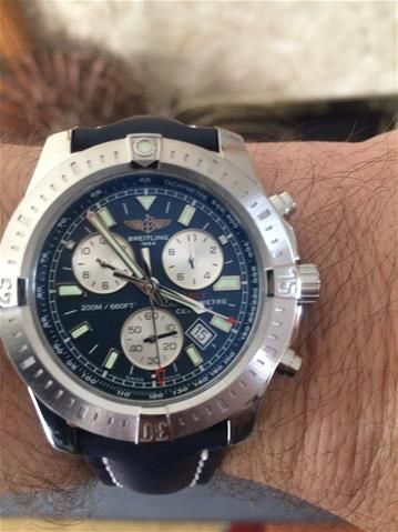 Take a look at the stunning @breitling  Watch Colt Chronograph - reliable and high performance instrument.  Shop: http://bit.ly/2egOTU9  #JuraWatches #CWSellors #Breitling #womw #wristshot #watchgeeks #watchnerd #wristshots #horology #horophile #luxurywatch #menswear #timepieces #watches #watchporn #watchoftheday #watchfan #watchobsession #luxurywatches #luxurytimepiece