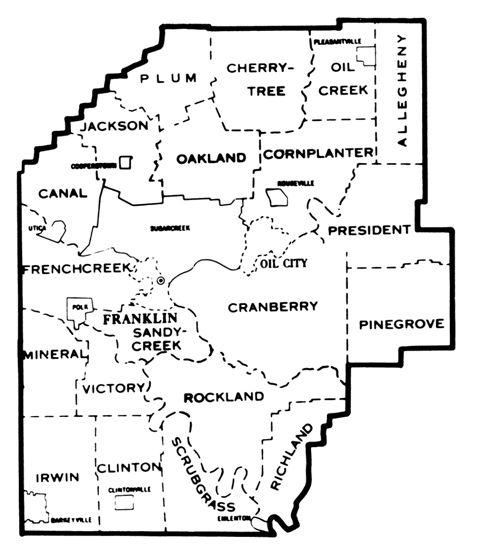 Venango County Pennsylvania Genealogical Society Of Pa Oil City Genealogy County