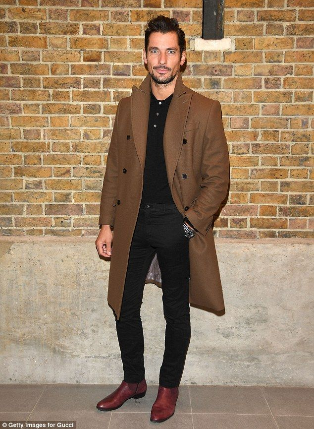 David Gandy looks dapper at Gucci and GQ\'s lavish cocktail party ...