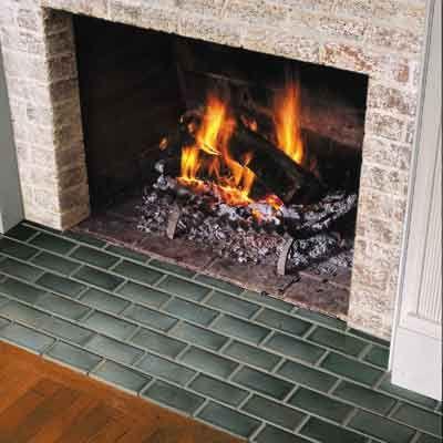 Hearth Tiles Fireplace, Charcoal Slate Fireplace Hearth Tile