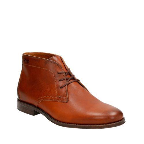 Hawkley Rise Tan Leather mens-dress-boots