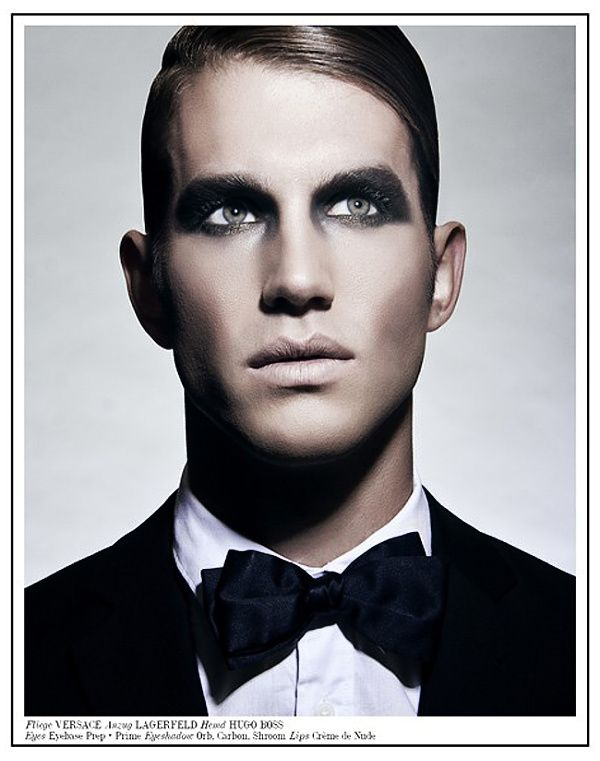 Man Of Tomorrow  makeup him! Vampire costume idea Pinterest - maquillaje de vampiro hombre