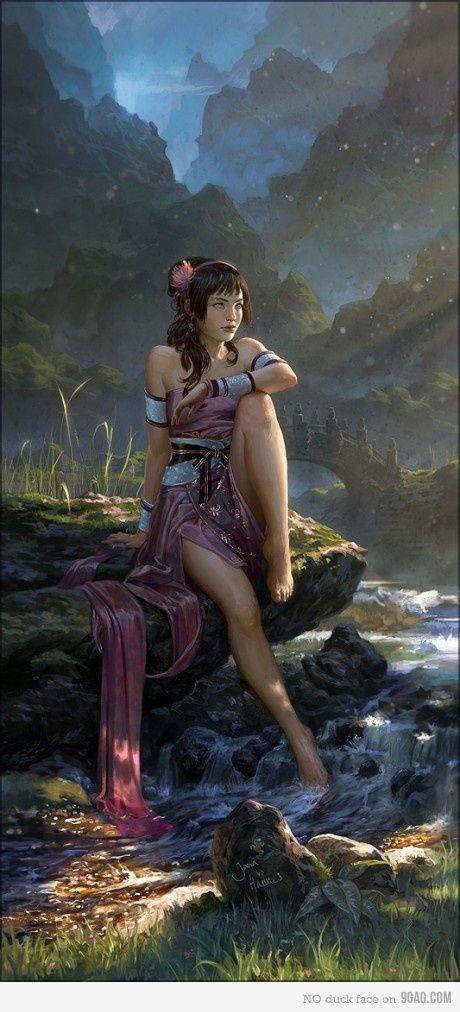 Fantasy Beauty - Fantasy Art of Fashion Models 1024x768 NO