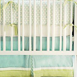 Amazon.com: New Arrivals Sprout 3 Piece Crib Bedding Set, Green: Baby