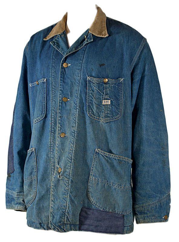 Lee Jelt Denim 81 Lj Chore Coat 1960s Outfits Lee Denim Denim