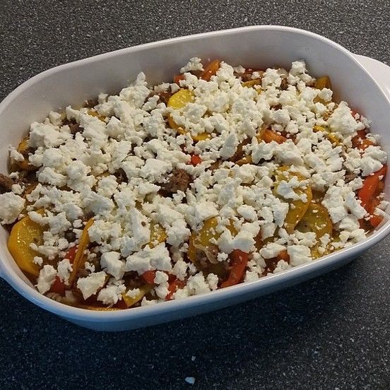 Photo of Zucchini – minced meat casserole with feta from Ruudini | chef