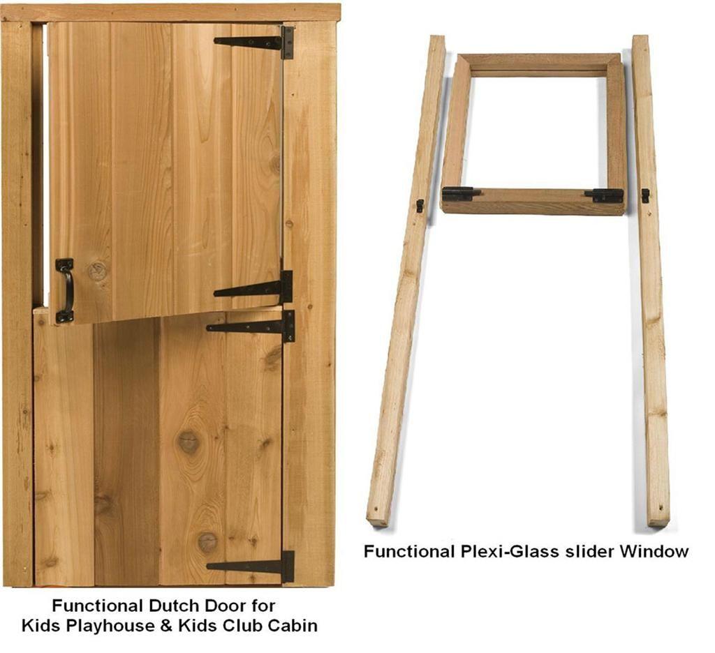 Gentil Small Playhouse Door