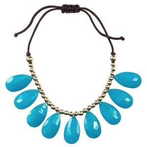 Old Navy bauble bib necklace