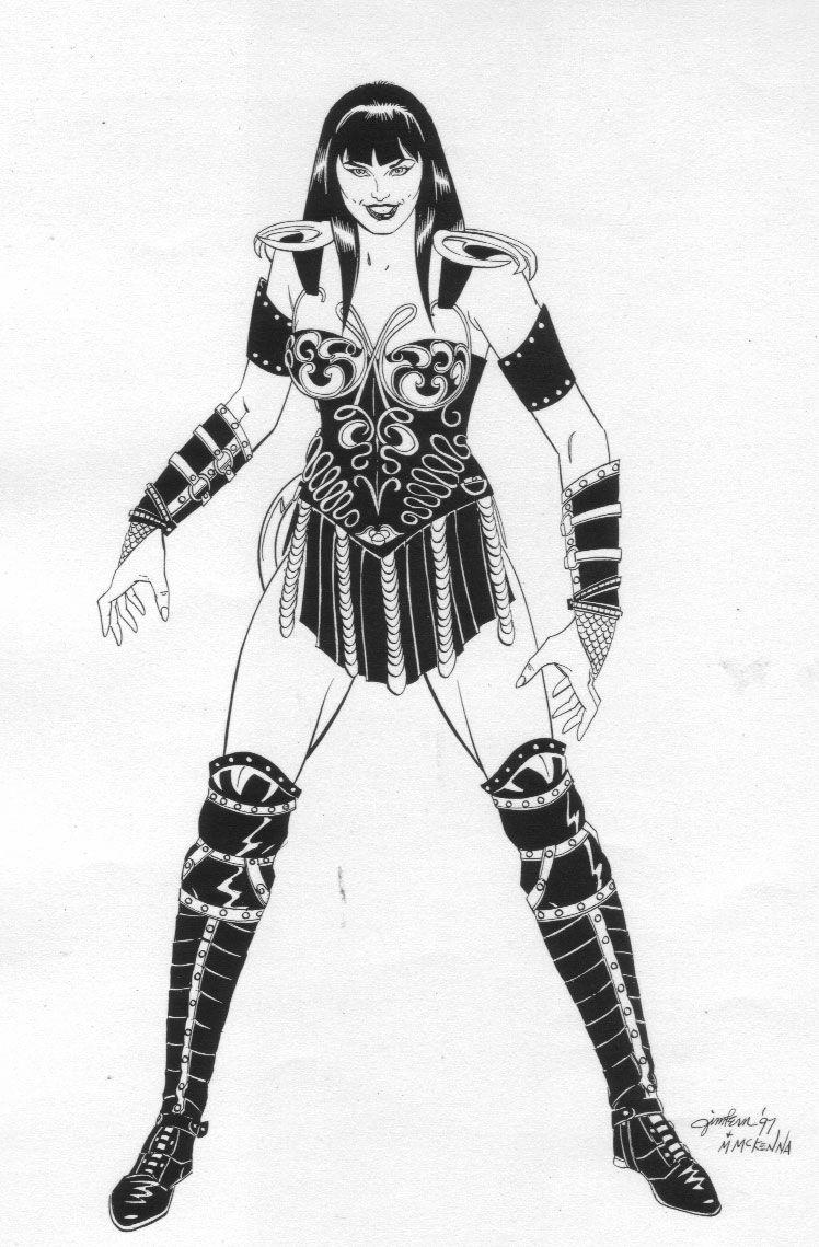 Xena Warrior Princess Coloring Pages Warrior Princess Xena Warrior Xena Warrior Princess